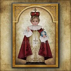 Catholic Gifts, Catholic Art, Religious Art, Religious Pictures, Catholic School, Jesus And Mary Pictures, Infant Of Prague, First Holy Communion, Prayer Cards