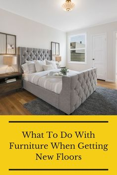 Do you know what to do with your furniture when you are installing new floors? If not, find out here. Flooring 101, Floors, Air Purifier, Bedroom, Furniture, Weird, Sleep, Home Decor, Reading