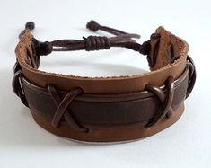 pulseira-masculina-couro-couro-moda