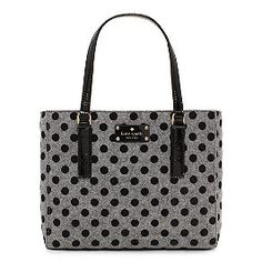 Dotted Kate spade bag :) Clothing, Shoes & Jewelry : Women : Handbags & Wallets : http://amzn.to/2jE4Wcd
