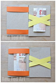 Magic Wallet - make the money or business card magically hop from one side to the other
