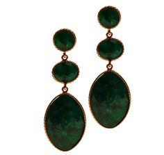 Silver Earrings 925 with Emerald. Women's Earrings, Silver Earrings, Emerald, Pendant Necklace, Gold, Collection, Jewelry, Jewlery, Jewerly