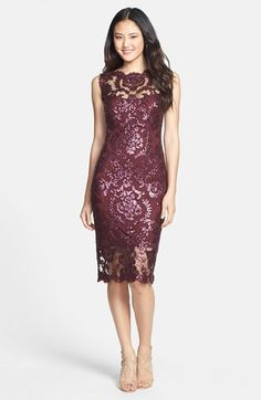Gorgeous dress! I love the shimmer of the material, makes it a perfect holiday party dress!