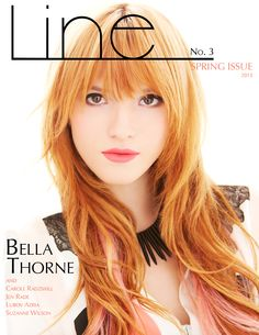 Our new issue is out with Bella Thorne in BCBGMAXAZRIA. Check it out at www.line-mag.com