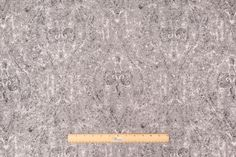 Robert Allen Ogee Paisley Upholstery Fabric in Pewter $19.95 per yard