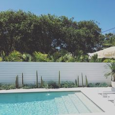 If you are working with the best backyard pool landscaping ideas there are lot of choices. You need to look into your budget for backyard landscaping ideas Backyard Pool Landscaping, Backyard Pool Designs, Pool Fence, Swimming Pool Designs, Landscaping Ideas, Pergola Ideas, Outdoor Areas, Outdoor Pool, Trou Aux Biches