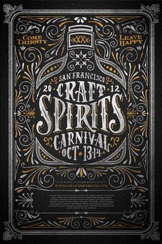 """Come thirsty, leave happy."" San Francisco Craft & Spirits Carnival by Joel Felix"