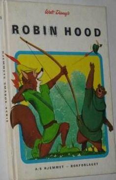 """Robin Hood"" av Walt Disney Childhood Memories, Walt Disney, Robin, Teen, Reading, Books, Libros, Teenagers, Word Reading"