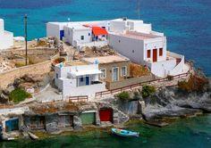 Fishing Houses Simata Groupa Kara Most Favorite, Greek Islands, More Photos, Kara, Greece, Fishing, Houses, Mansions, House Styles
