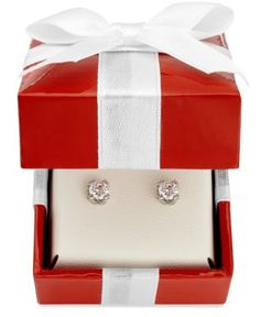 14K White Gold Diamond Stud Earrings White Gold Diamonds, Bridal Jewelry, Stud Earrings, Turquoise, Diamond Stud, Silver, Nice, Bridal Bridal Jewellery, Stud Earring