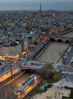 The Bateau Mouche on the Seine River, Paris Pont Paris, Paris 3, Paris Love, Paris Pics, Paris Night, Beautiful Paris, Most Beautiful Cities, Beautiful World, Paris Travel