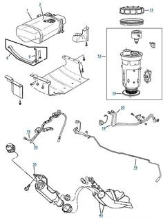 Jeep Grand Cherokee Fuel Line Diagram