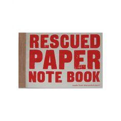 Designfabrix - Notitieboek gered papier