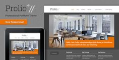 Prolio, a Powerful Portfolio WordPress Theme . Prolio, has features such as High Resolution: No, Widget Ready: Yes, Compatible Browsers: IE8, IE9, IE10, Firefox, Safari, Opera, Chrome, Software Version: WordPress 4.0, WordPress 3.9, WordPress 3.8, WordPress 3.7, WordPress 3.6, WordPress 3.5, Columns: 2