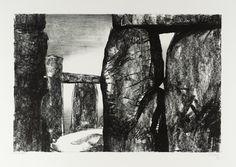 Henry Moore 1898–1986 Stonehenge литография, 291 x 439 мм из собрания Tate