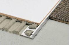 Tile edge trim drainage - Google Search