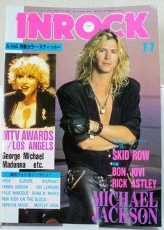 INROCK Nov/1989 Vol.71 Japanese Music Magazine  GN'R/KYLIE MINOGUE/SKID ROW