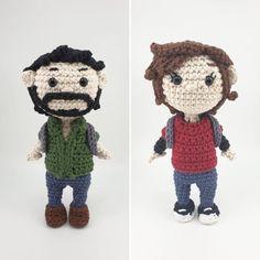 Announcing : The Last of Us Collection Crochet Patterns Amigurumi, Crochet Hats, Pattern Art, Art Patterns, Pokemon, Arms, Teddy Bear, Fan Art, Character