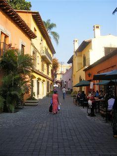 A street in Cuernavaca -Mexico