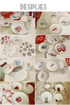 dibujo en ceramica