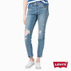 NEW Ladies LEVI'S 501 High Rise SKINNY BOYFRIEND JEANS woman W32 L32 size uk 14 fashion 2018