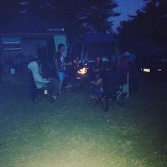 When we were Camping #family#camps#fire#tents#Heat#camping#fun#holidays#smiles#marshmallows#toasting#cold#warmfire#portland#narrawong by chelsea_aimee13