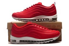 Nike Air Max 97 Hyperfuse Varsity Rood/Wit Sportschoenen,HOT SALE!