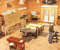 A New England Natural — It took Mike and friends a long weekend in 2002 to raise the frame of his workshop near Concord, New Hampshire. Four years later it's still not done, and Mike couldn't be happier.