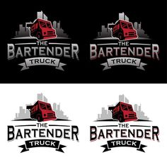 Create the logo of San Francisco's first food truck for cocktails! by rsydf