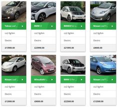 Electric Cars For Sale, Used Electric Cars, Bmw I3, Nissan Leaf, Search, Vehicles, Searching, Car, Vehicle