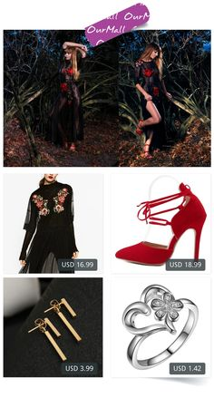 This is Malin Rouge's buyer show in OurMall;  1.vintage mesh patchwork flower embroidery dress elegant black long vestidos casual loose 2.Summer Style women's Lace Up high heels Pointed Toe Bandage Stiletto sandals celebrity ladies 3.New Fashion Simple T Bar Stud Earrings Ja... please click the picture for detail. http://ourmall.com/?QRbMr2