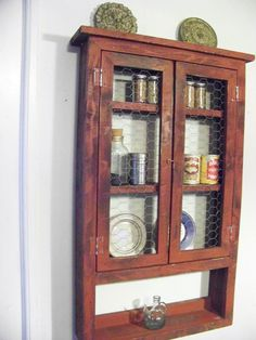 Spice rack medicine cabinet or just a place by QualityPrimitives