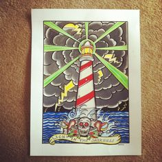 Vintage Nautical Tattoo, Cool Typography, Surf Art, Skate, Tattoo Ideas, Surfing, The Past, My Arts, Watercolor