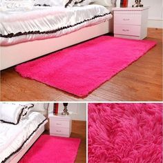 fashion 6colors home bedroom carpet floor mat fluffy rugs