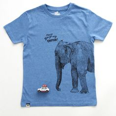 PICK OF THE DAY! LION OF LEISURE ELEPHANT TEE - SpringStof