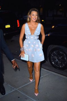 Blake Lively has all but written the book on what to wear when you're expecting.