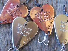 Mens Gift Set Personalized Wedding Favors by CandTCustomLures, $78.00
