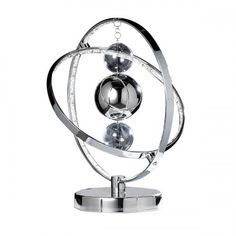 Saxby Lighting Muni 8W LED Table Lamp (Polished Chrome) great feature lamp also comes in gold or copper