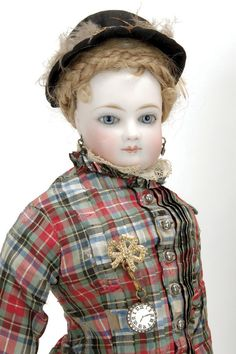 Simonne Fashion with Wardrobe and Accessories ~ This doll was purchased for Carrie Elizabeth Day of Boston, who was born in 1866