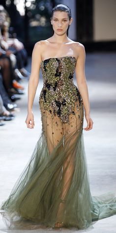 The 14 Unforgettable Gowns from Couture Fashion Week - Alexandre Vauthier Haute Couture from InStyle.com