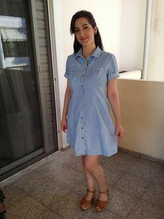 "Tillie and the buttons ""Rosa"" princess seamed shirtdress"