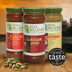 Indian Sauces | Product Categories | Real Organic Foods