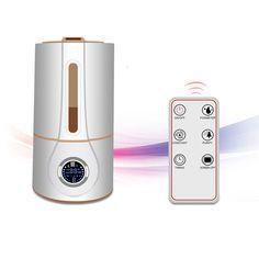 Mute Hogar Humidifie Aire Difusor de Aroma Humidificador ultrasónico Nebulizerr Mini Ultrasónica Esterilización Bar de Oxígeno, aromaterapia