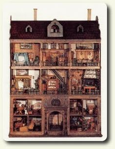 History of dollhouse miniatures, part III