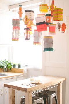 DIY Colorful Paper Lamp