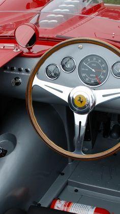 (1959 Ferrari Testa Rossa Interior)