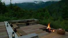 Fire Pits and Outdoor Fireplace Design Planning Ideas - Fire Pit Ideas - Sunken Fire Pits, Diy Fire Pit, Deck With Fire Pit, Outdoor Spaces, Outdoor Living, Outdoor Decor, Outdoor Kitchens, Bhutan, Gazebo