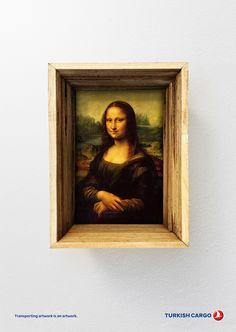 Turkish Cargo: Mona Lisa