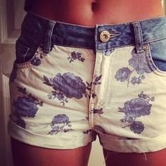 Floral with a Country Feeling Shorts