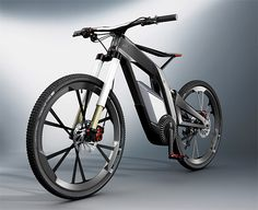 Audi e-bike Wörthersee | The full-suspension E-Bike features a 5-mode Lithium-Ion powerplant that let's riders choose how hard they want to work.